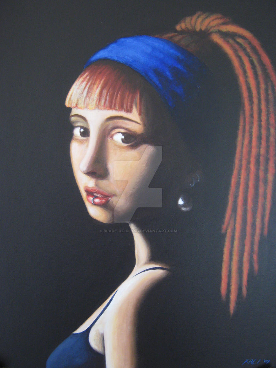 Girl With A Pearl Earring By Bladeofglass