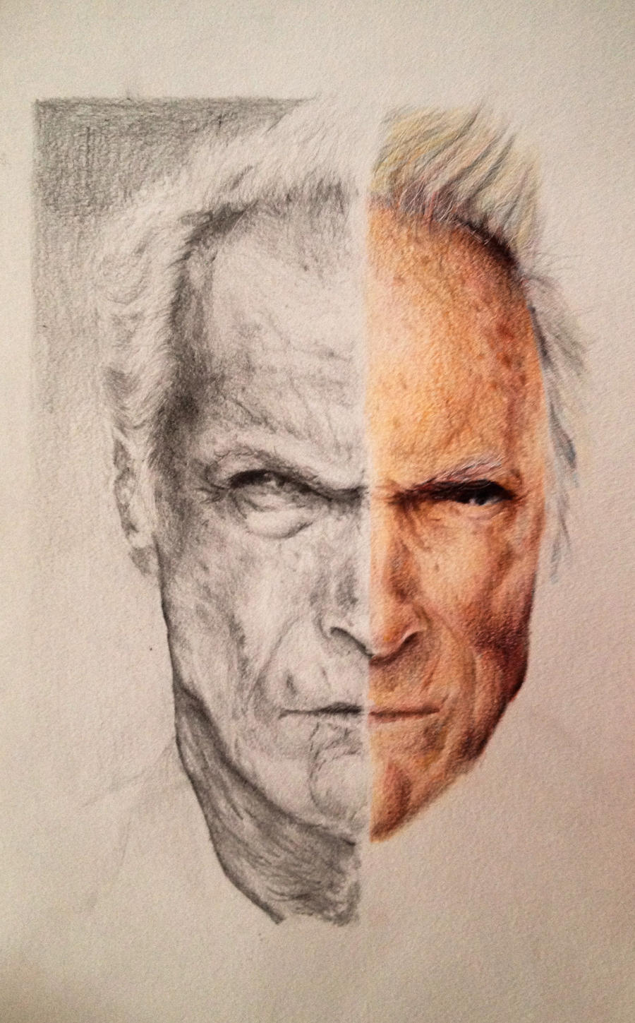 Clint Eastwood by GEBdesign