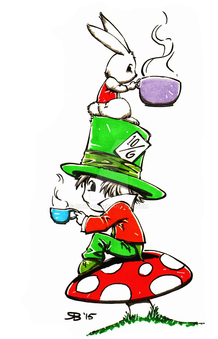 Chibi Mad Hatter by RickBas