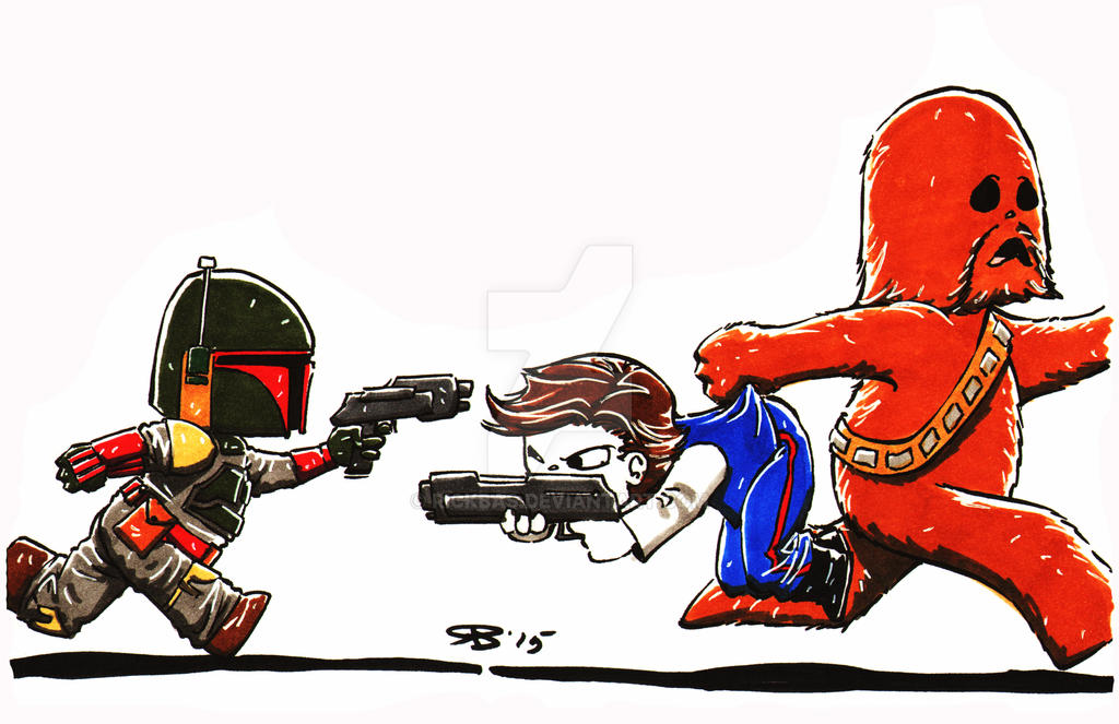 Chibi Star Wars by RickBas
