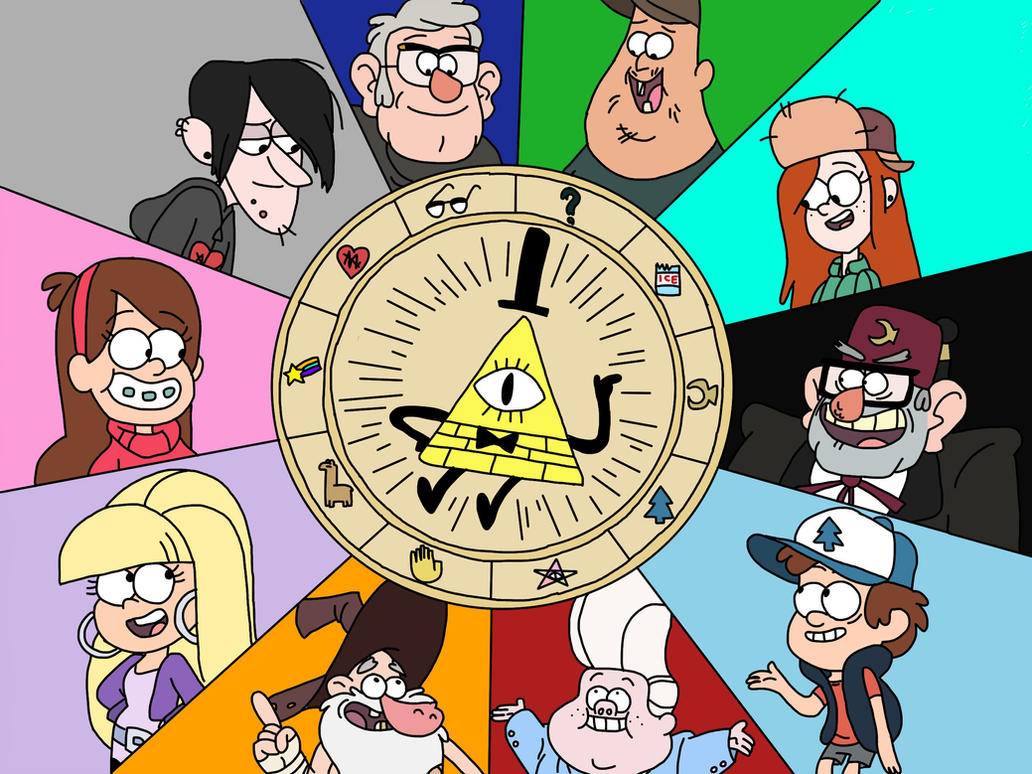 Bill cipher wheel by gamersparkle on deviantart bill cipher wheel by gamersparkle biocorpaavc