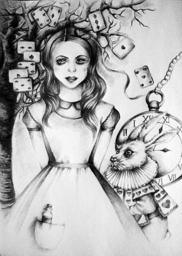 Alice in Wonderland by MadlenvonByron