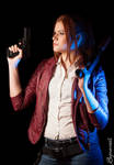 Blue shine - Claire Redfield Revelations 2
