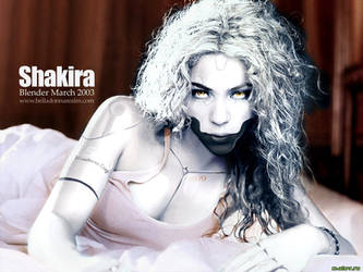 Shakira Robot by discipleneil777