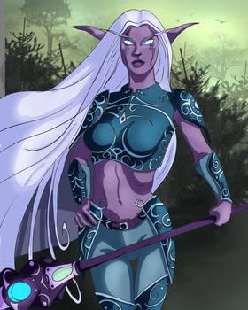 World of Warcraft Night Elf CS