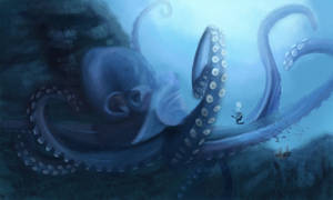 Giant Octopus by discipleneil777