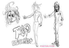 Mad Scientist for Demi Nation by discipleneil777