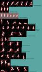 Ninja Chick sprite sheet by discipleneil777