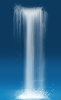 Animated Water Fall for game by discipleneil777
