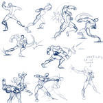 Punching sketch reference by discipleneil777