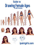 How to Draw Female Ages
