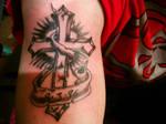 Cross Tattoo by discipleneil777