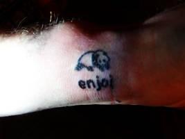 Enjoi tattoo by discipleneil777