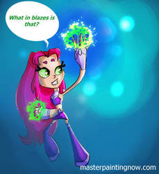 Starfire from Teen Titans  Go