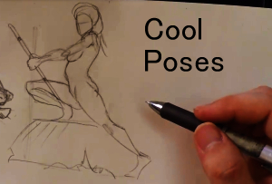 Pencil tutorial how to draw cool poses by discipleneil777