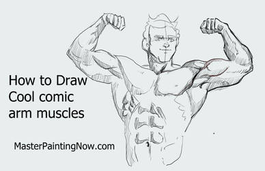 How to Draw cool arms and muscles for comics