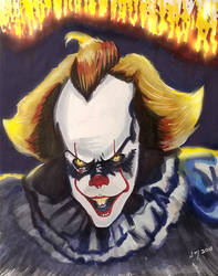 Pennywise Print by discipleneil777