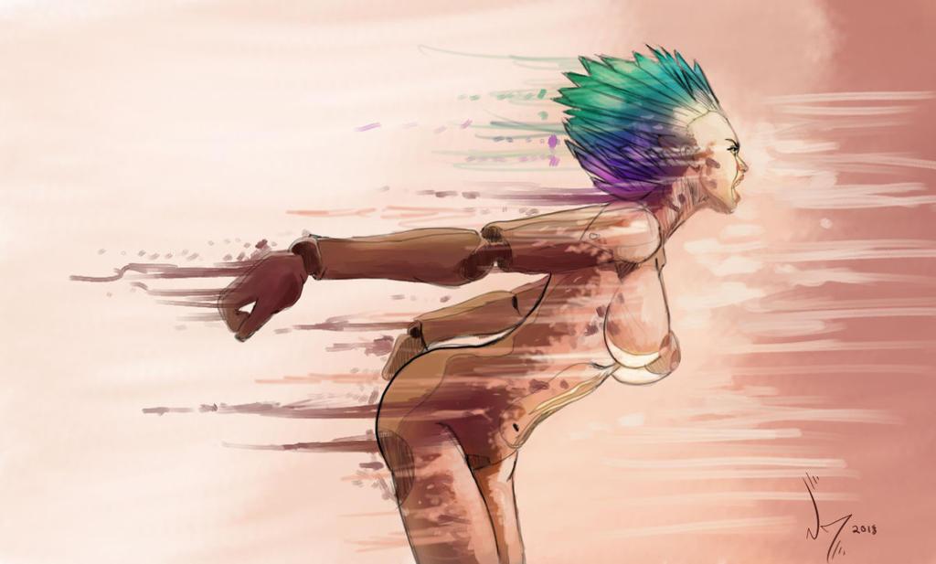 White Society Nude Female Symbolism by discipleneil777
