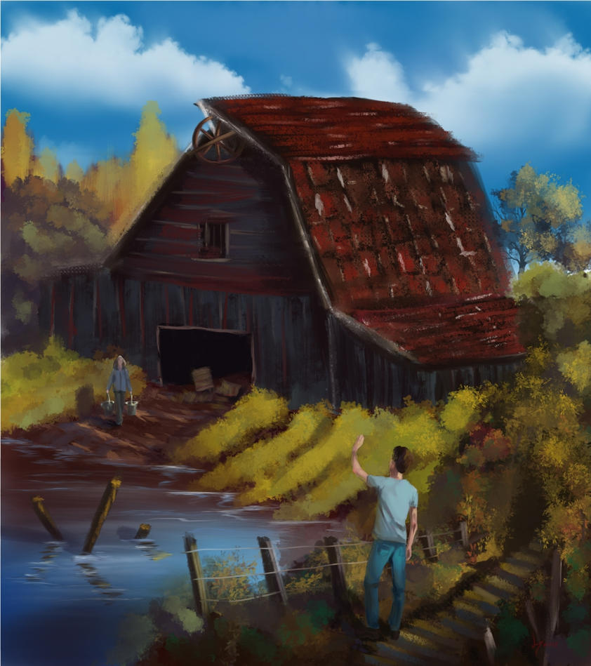 Paint like Bob Ross with Krita or Paintstorm by discipleneil777