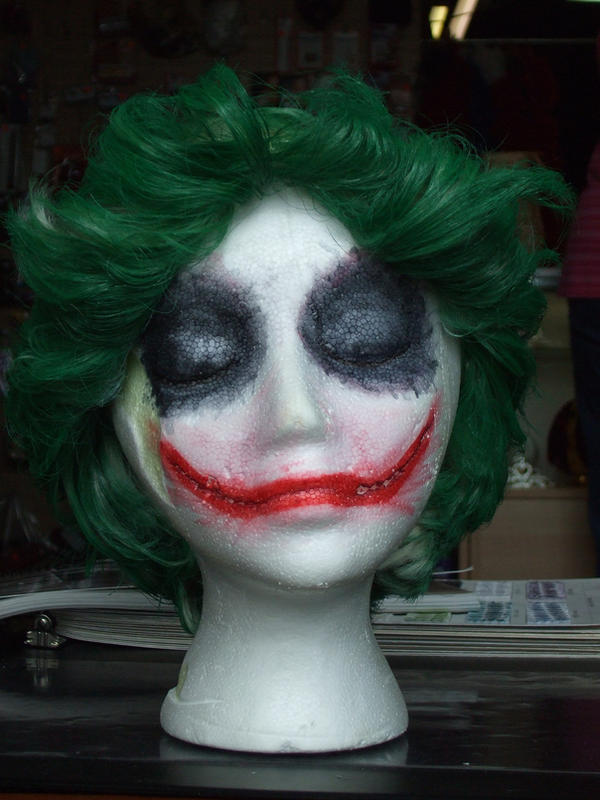 The Joker - Wig Head by Cei-Ellem