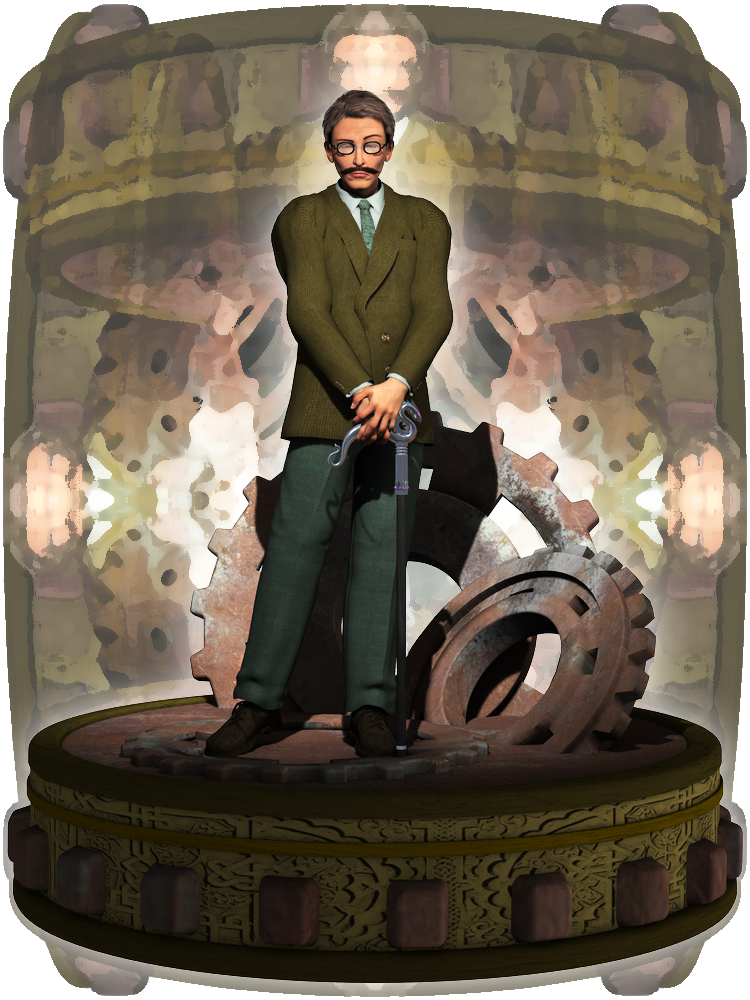 SC: Professor Atticus Arres by Cei-Ellem