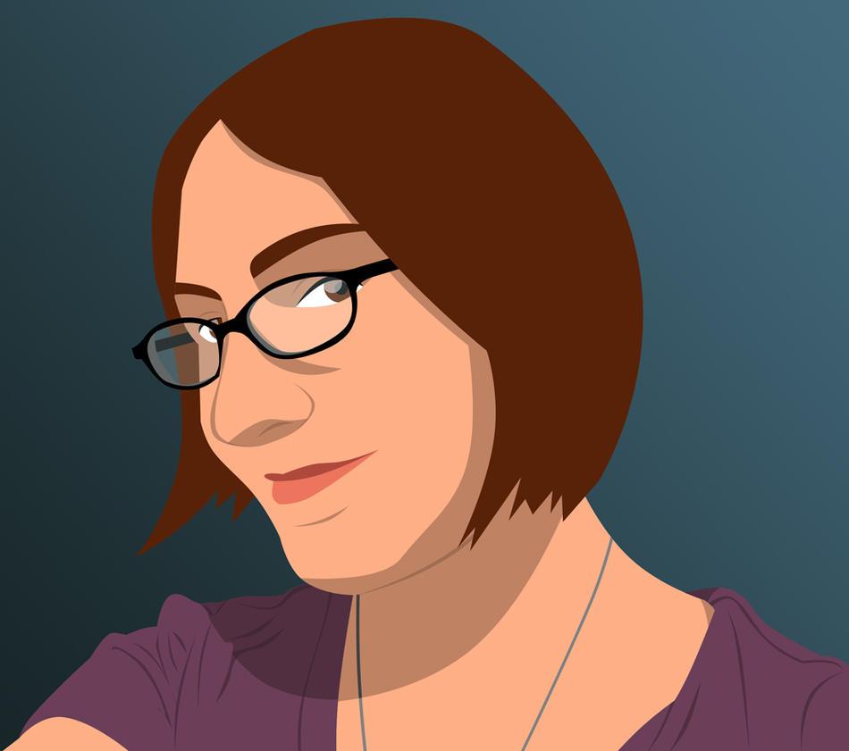 Self Portrait 2009 by Cei-Ellem