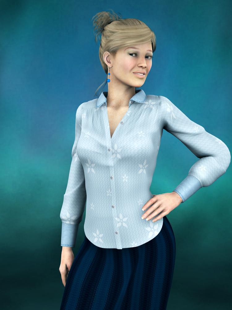 Portrait: Dr. Sloane Lamport by Cei-Ellem