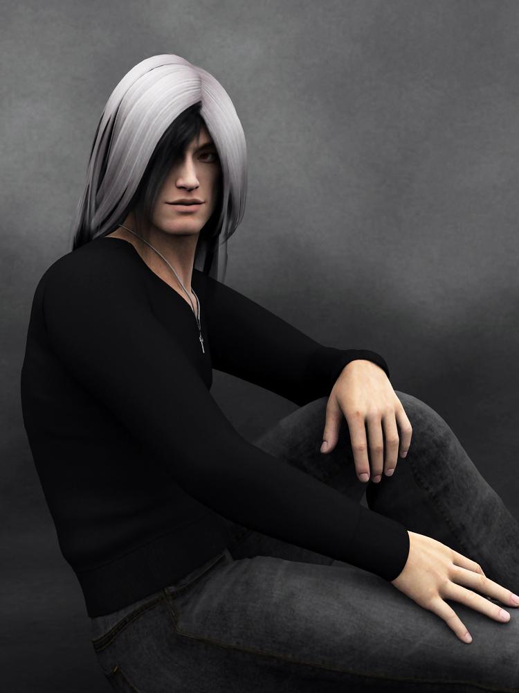 Portrait: Gabriel by Cei-Ellem