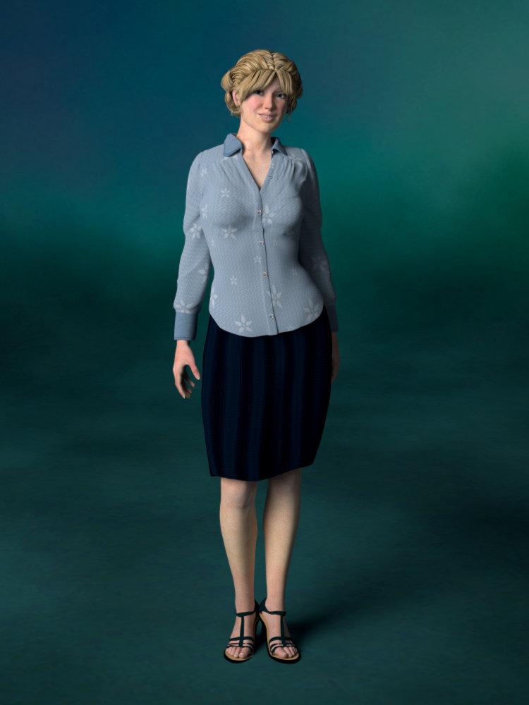 Portrait REDUX: Dr. Sloane Lamport by Cei-Ellem