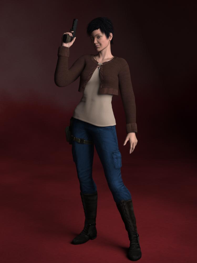REDUX: Detective Evey Grant by Cei-Ellem