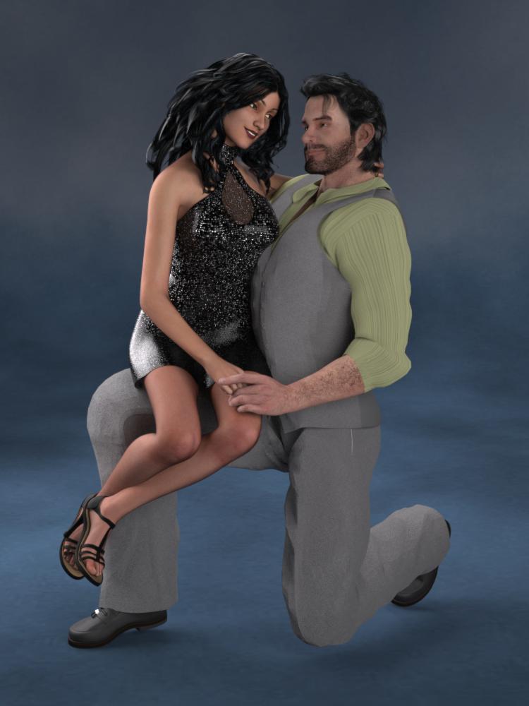 Cruenti Couple: Kei + Brendan by Cei-Ellem