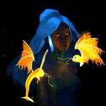Destiny Blue (Redraw Challenge)