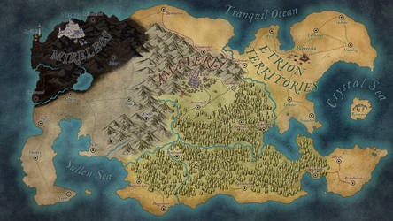 Amateria and the Surrounding Kingdoms by Cei-Ellem