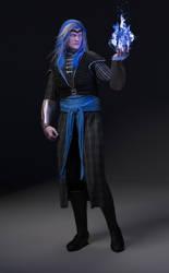 DnD Spellscar: Aziz, the Sorcerer King