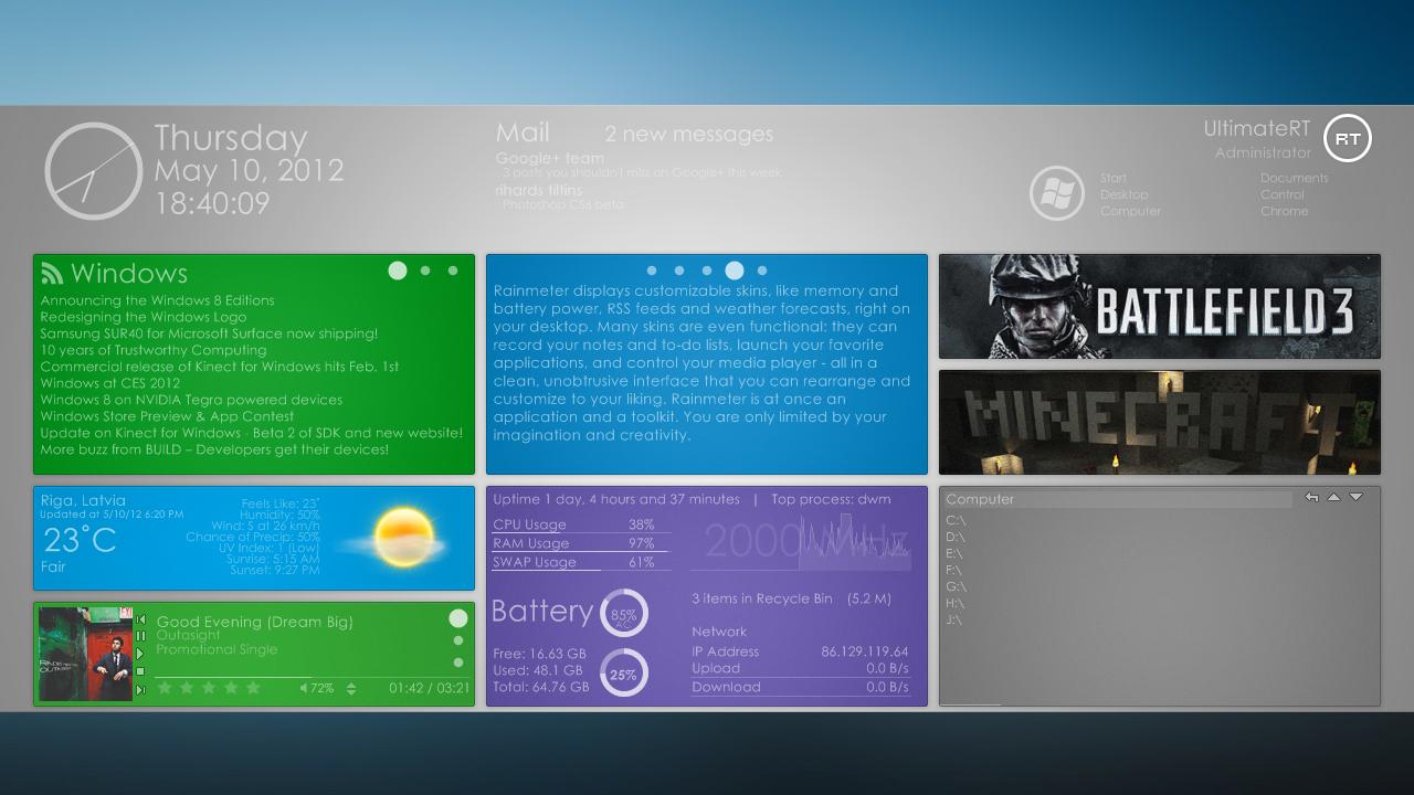 Windows 8 HD Wallpapers ZCC