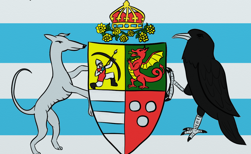 Coat of Arms of the Empire of Cytttania (Redo) by Turtlgandalf