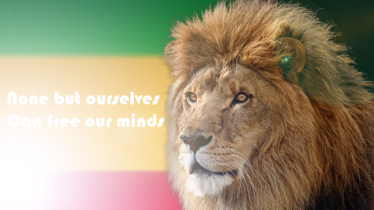 Rasta Lion Judah Bob Marley Quote By Jamaicavb