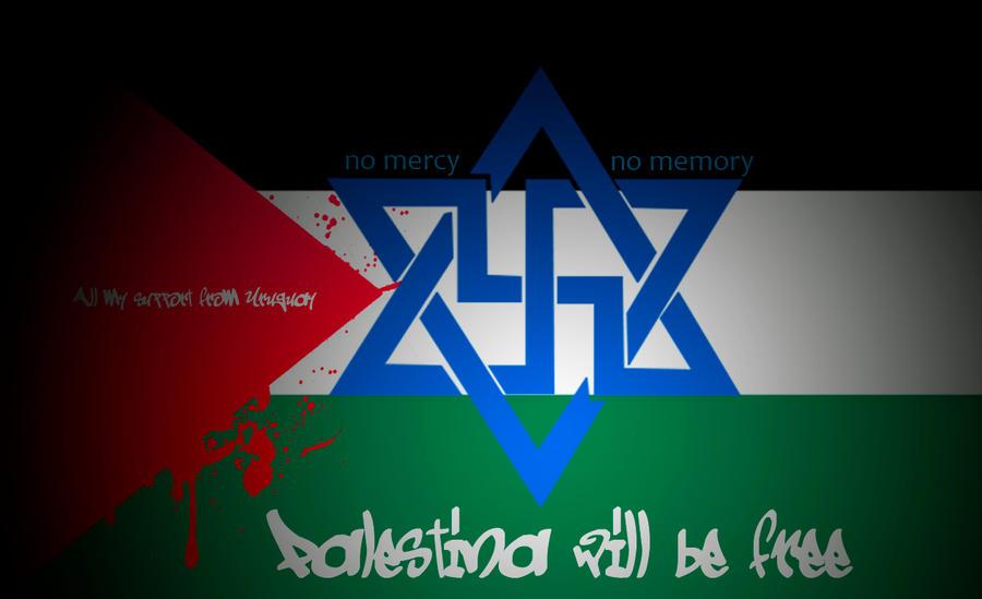 Palestina (palestine) will be Free , Israel = Nazi by jamaicavb