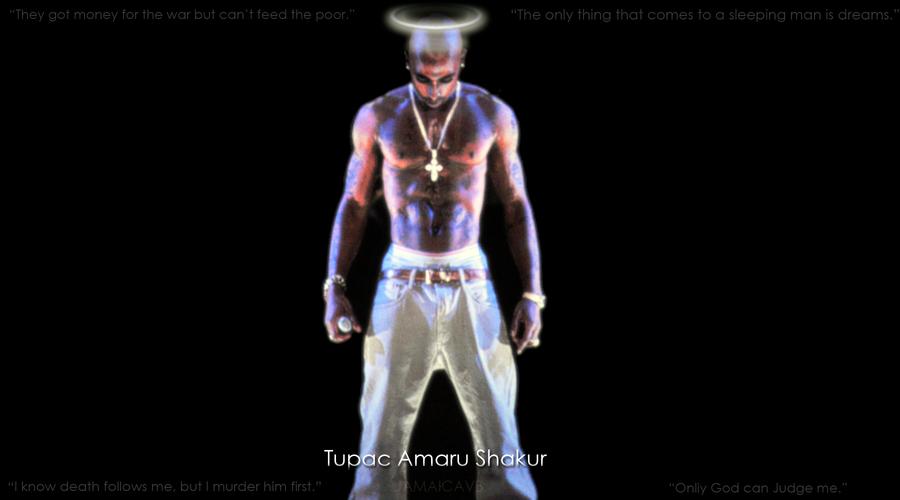 2PAC Tupac Amaru Shakur by jamaicavb
