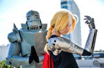 Edward and Alphonse Elric cosplay