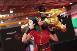 Firecracker Jinx Cosplay by GeazakiCosplay