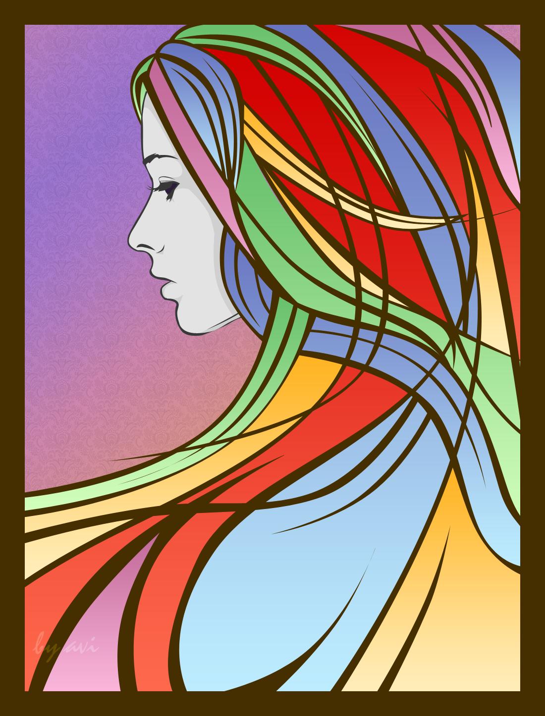 :: Rainbow Girl