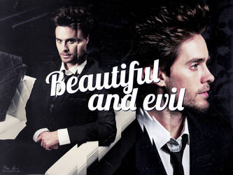 :: beautiful and evil by go-avi