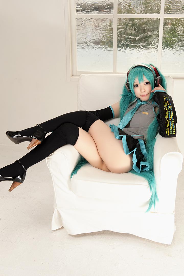 Hatsune Miku cosplay #11