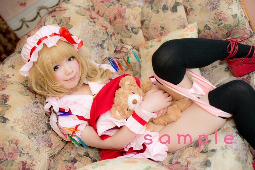 Flandre Scarlet Ero Cosplay by Shiizuku