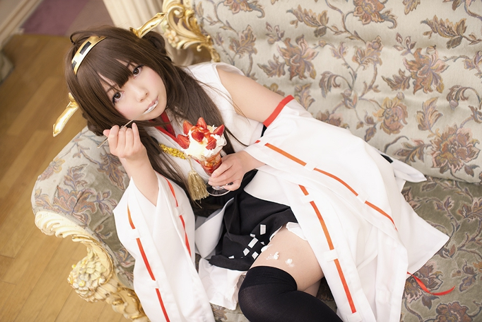 Kongou Cosplay #2 by Shiizuku