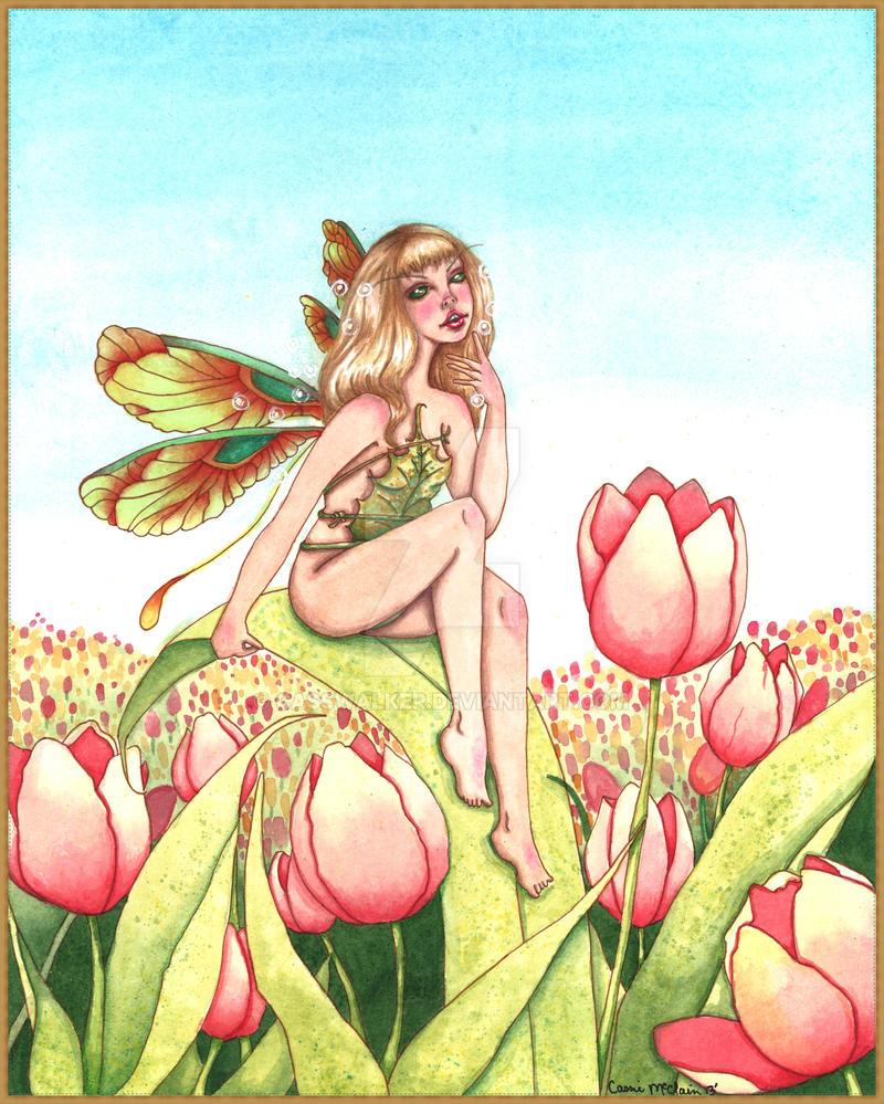 Tulip Fairy by CassWalker
