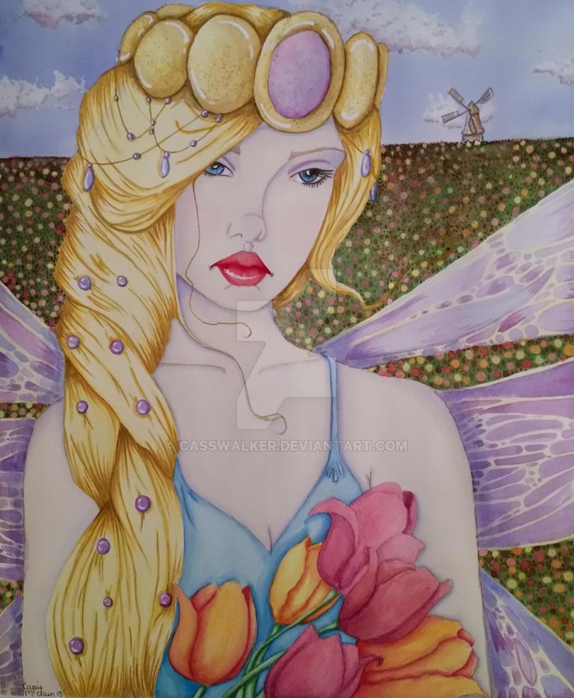 Tulip Fairy Queen by CassWalker