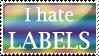 Label Hater Stamp