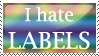 Label Hater Stamp by Nessarie